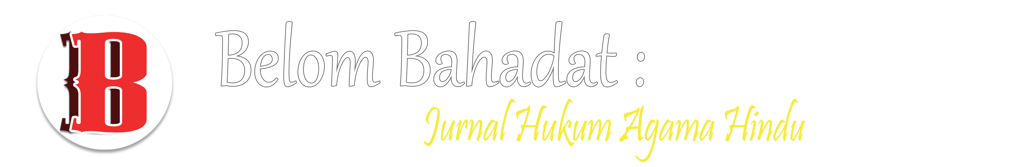 Header Logo Images Jurnal Belom Bahadat